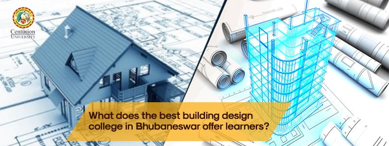 What does the best building design college in Bhubaneswar offer learners?