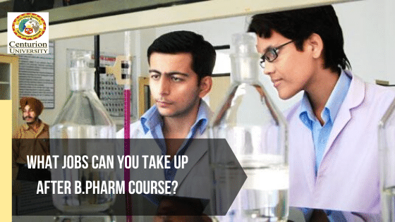 What Jobs Can You Take Up After B.Pharm Course?