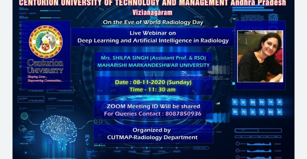 Live Webinar on Deep Learning and Artificial Intelligence in Radiology